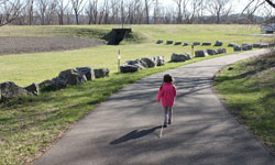 Child Walking Lackawanna Trail